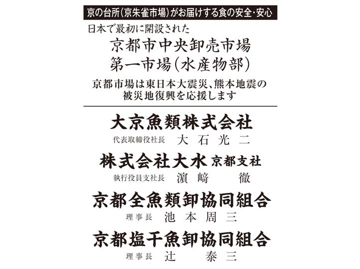 京都中央卸売市場 第一市場(水産物部)